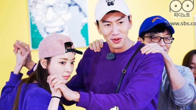 "Running Man"" Hits Peak Ratings With Lee Da Hee And Lee Kwang"