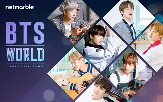 Netmarble Games To Release A New Cinematic Game Featuring BTS