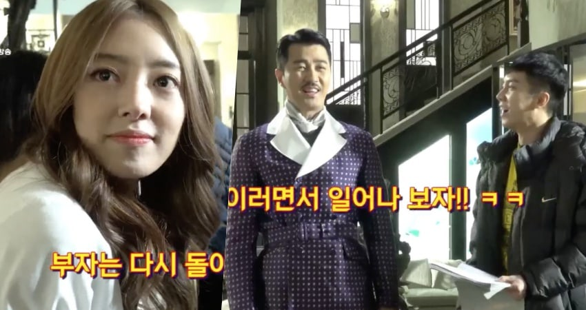 """Watch: Laughter Never Leaves The Set Of """"Hwayugi"""" As Cast Brings Humor To Their Scenes"""
