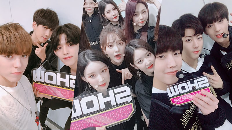 "Watch Live: SEVENTEEN, Red Velvet, gugudan, And More Perform On ""Show Champion"""