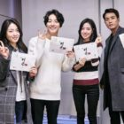 Yoon Shi Yoon, Jin Se Yeon, And Joo Sang Wook Participate In Script Read-Through For New Historical Drama