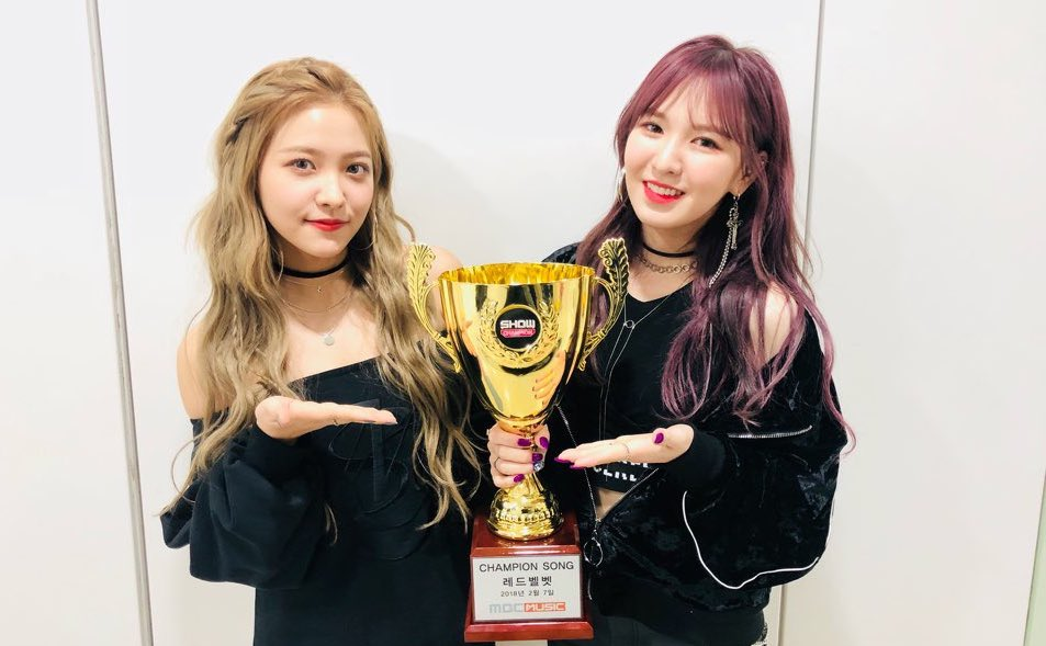 """Watch: Red Velvet Takes 1st Win For """"Bad Boy"""" On """"Show Champion,"""" Performances By SEVENTEEN, JBJ, And More"""