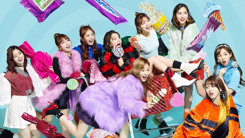 """TWICE Beats Own First Day Sales Record + Tops Oricon's Daily Single Chart With """"Candy Pop"""""""