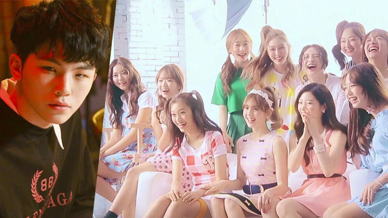 "SEVENTEEN's Woozi Talks About The Royalties He Gets From I.O.I's ""Downpour"""