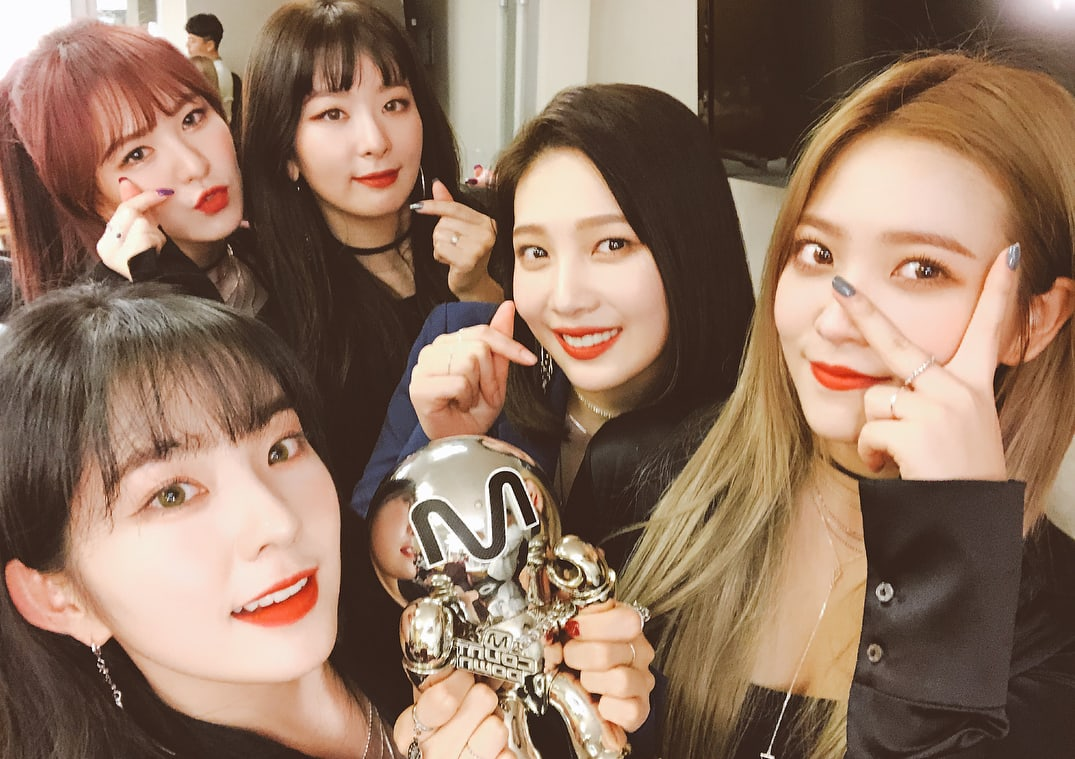 """Watch: Red Velvet Grabs 2nd Win For """"Bad Boy"""" On """"M!Countdown,"""" Performances By SEVENTEEN, JBJ, And More"""