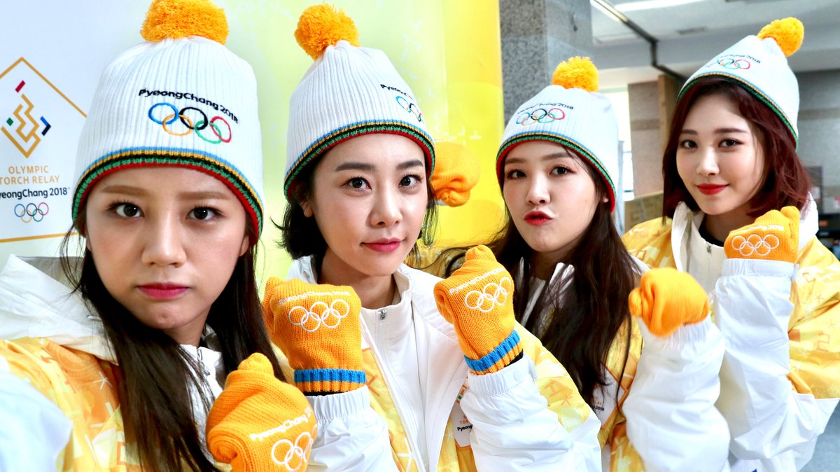 Watch: Girl's Day Carries Torch In 2018 PyeongChang Olympics Relay