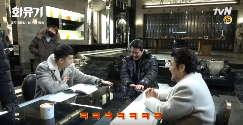 """Watch: Lee Seung Gi And Cha Seung Won Engage In A Battle Of Humor Behind The Scenes Of """"Hwayugi"""""""