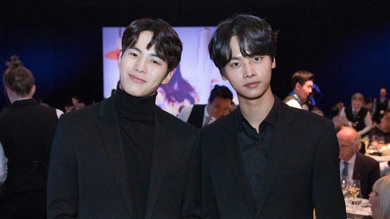 VIXX's Hongbin And N Attend 2018 IOC President's Dinner In PyeongChang