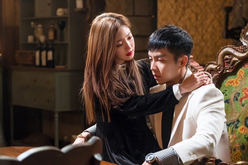 "Lee Se Young Attempts To Seduce Lee Seung Gi In ""Hwayugi"""