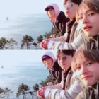 BTS's V Shares Photos From Trip With Park Seo Joon And Park Hyung Sik