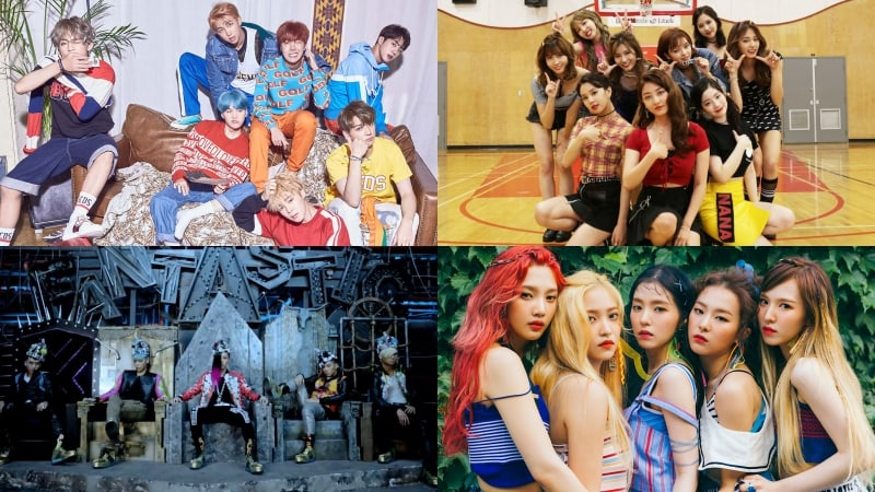 Songs By Bts Twice Bigbang Red Velvet And Psy Play As Soundtrack