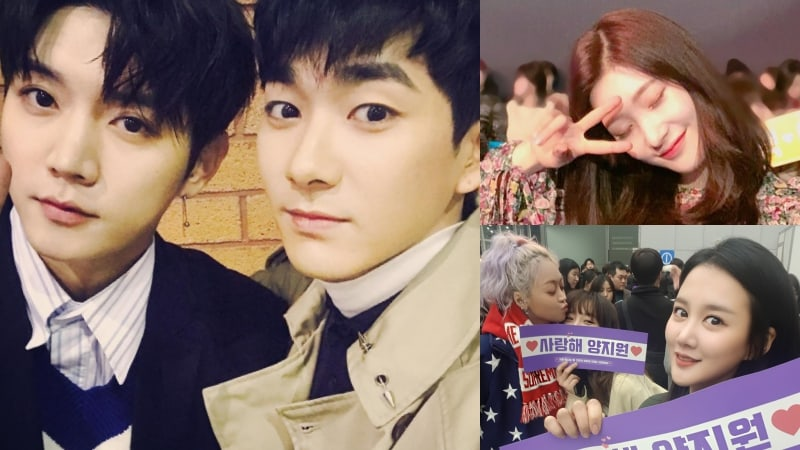 "NU'EST, SPICA, DIA Attend ""The Unit"" Finale To Cheer On Contestants"