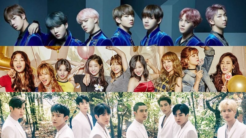 BTS, TWICE, EXO Top TIME Magazine's List Of 6 Best K-Pop Groups