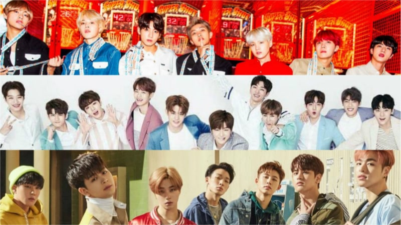 February Boy Group Brand Reputation Rankings Revealed