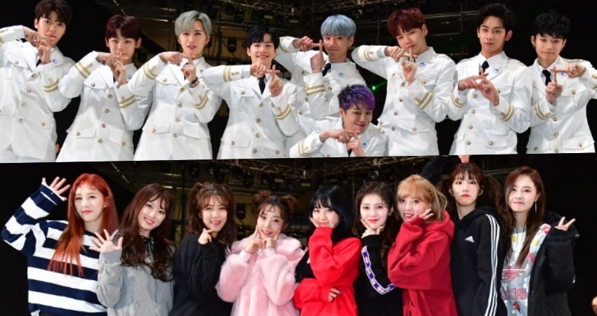 "Final 18 Members Of ""The Unit"" Draw Big Crowds At Surprise Concert"