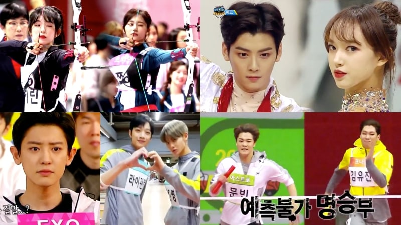 "Watch: Idols Get Competitive In Teaser Videos For ""2018 Idol Star Athletics Championships"""