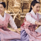 "Jin Se Yeon Is All Smiles Even When Covered In Ink As Her ""Grand Prince"" Character"
