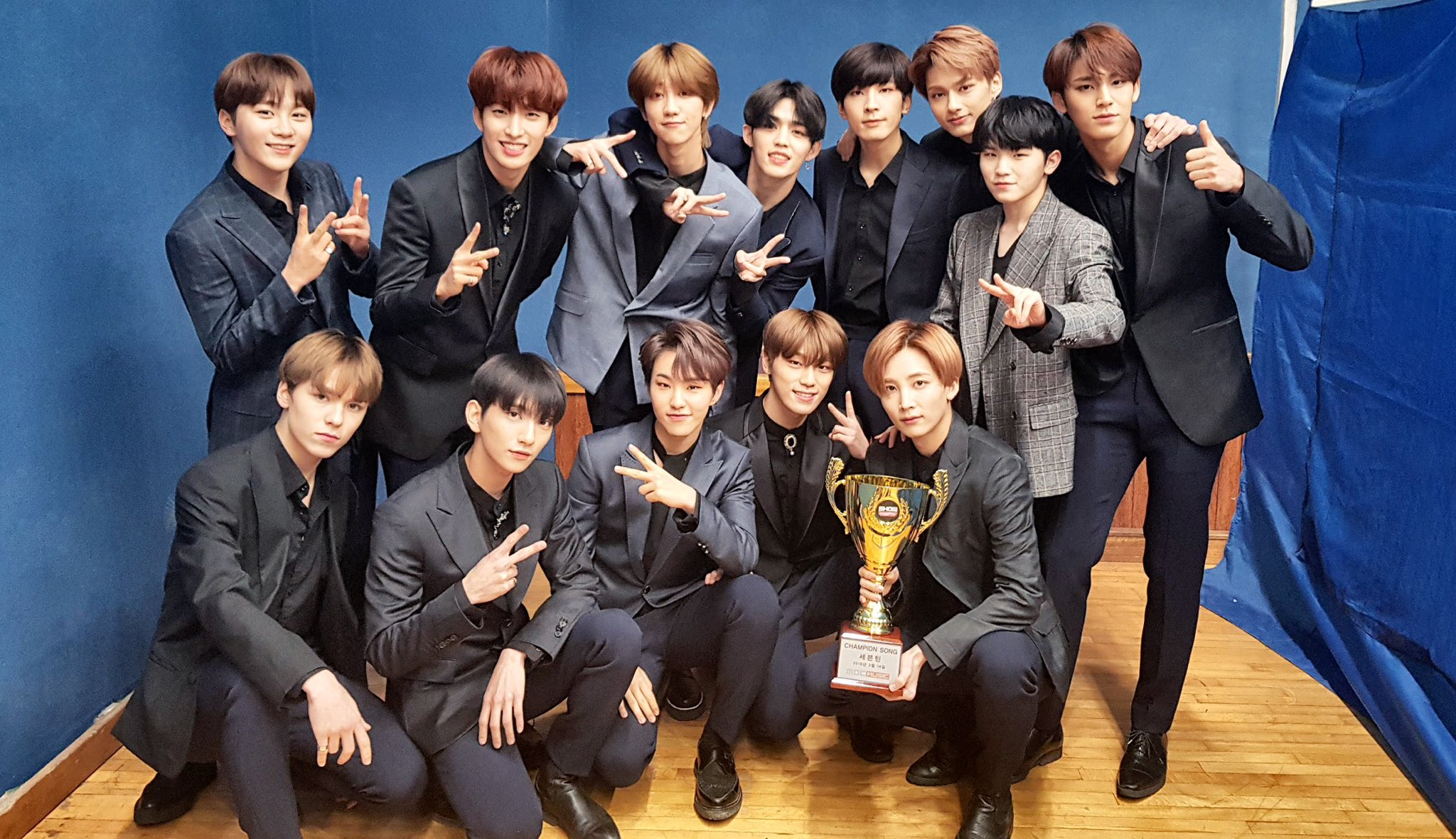 """SEVENTEEN Takes 1st Win For """"Thanks"""" On """"Show Champion"""""""