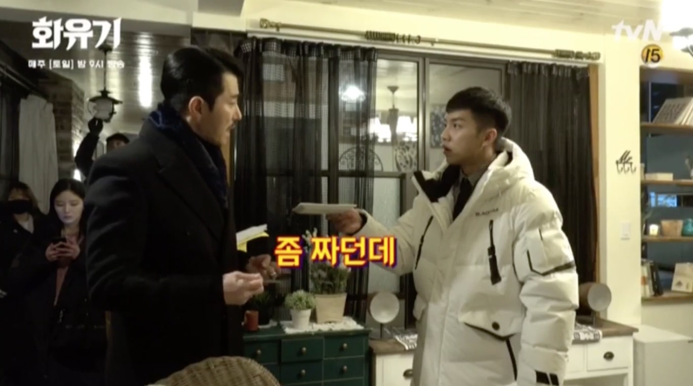 "Watch: Lee Seung Gi And Cha Seung Won Can't Stop Laughing On The Set Of ""Hwayugi"""
