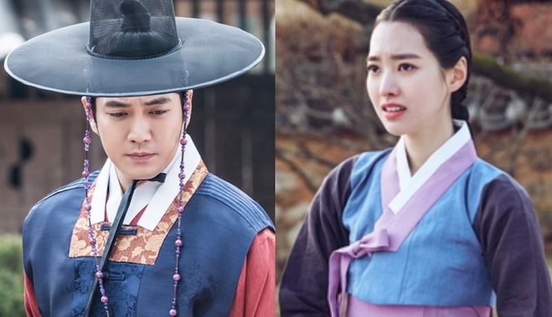 """Joo Sang Wook And Jin Se Yeon Are In Completely Opposite Situations In New """"Grand Prince"""" Stills"""