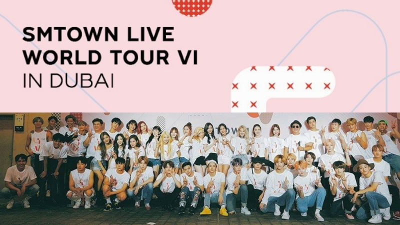 "SM Entertainment To Hold ""SMTOWN LIVE"" Concert In Dubai This April"