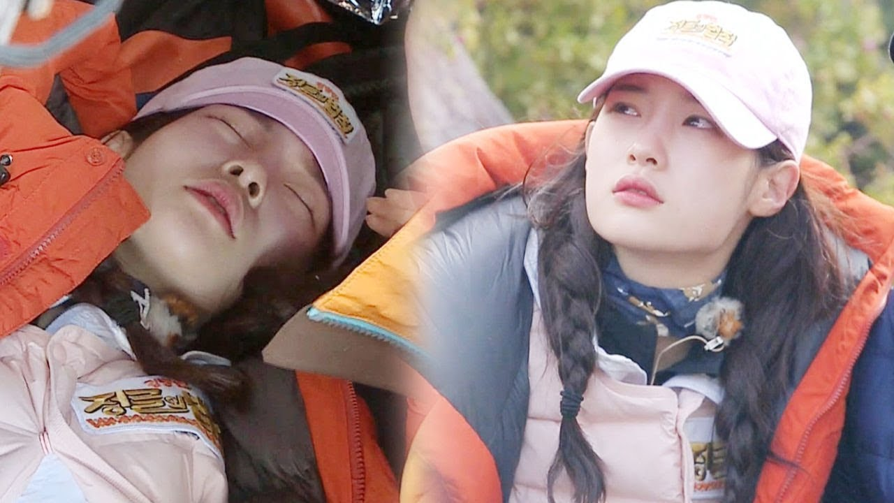 """DIA's Jung Chaeyeon Falls Sick And Has To Leave Camp After 70 Hours Of Hunger On """"Law Of The Jungle"""""""