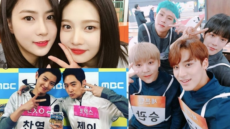 "Idols Celebrate And Take Photos With Friends At ""2018 Idol Star Athletics Championships"""