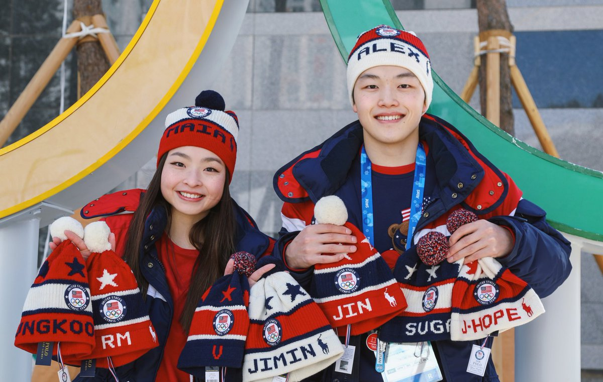 Olympic Ice Dancers Maia And Alex Shibutani Demonstrate Their Love For BTS