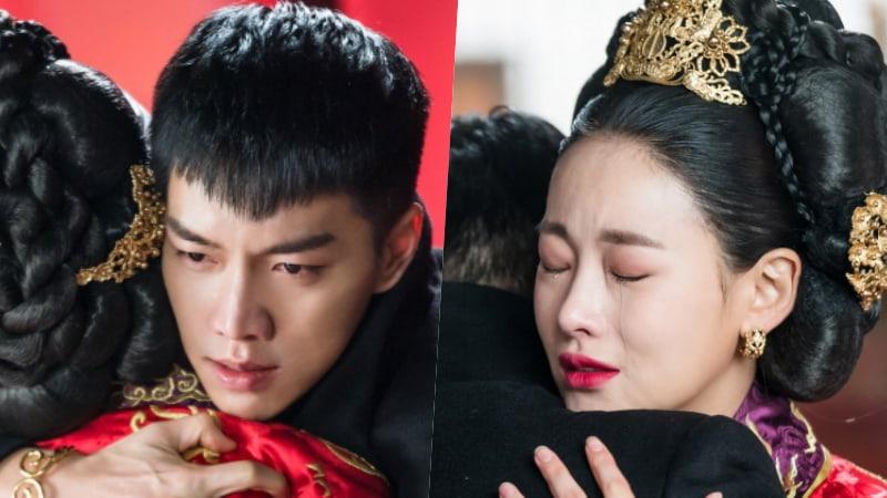 Lee seung gi and oh yeon seo tearfully embrace in upcoming episode lee seung gi and oh yeon seo tearfully embrace in upcoming episode of hwayugi stopboris Choice Image
