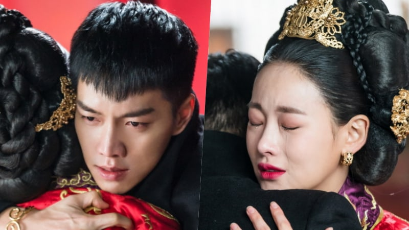 "Lee Seung Gi And Oh Yeon Seo Tearfully Embrace In Upcoming Episode Of ""Hwayugi"""