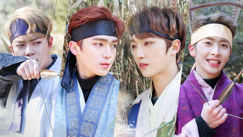 """Watch: UP10TION Celebrates """"2018 ISAC"""" Win By Hilariously Transforming Into Time-Traveling Hwarang"""
