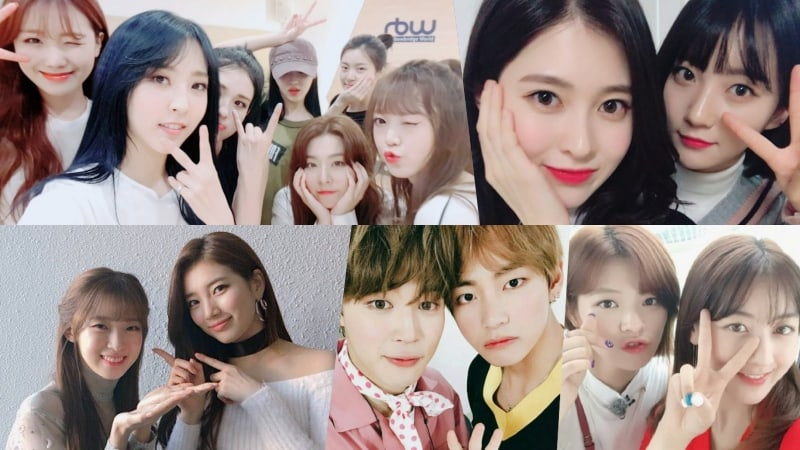 Oh My Girl Reveals Their Celebrity Friends And Who They Want To Be Close With