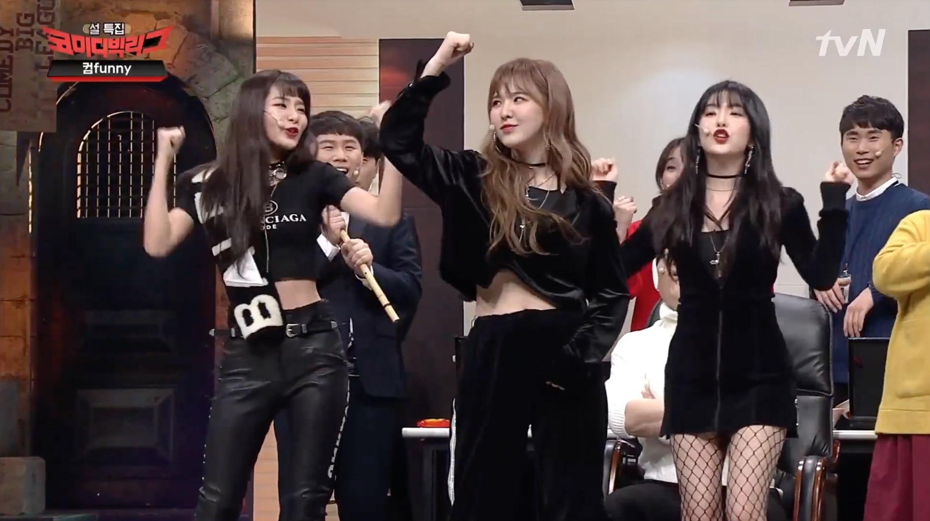 "Watch: Red Velvet Makes Cute Appearance In ""Comedy Big League"" Sketches"