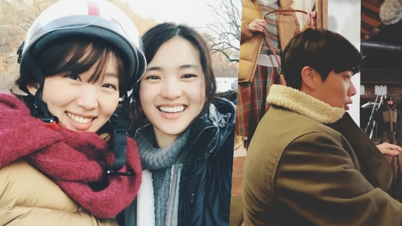 """Little Forest"" Shares Heartwarming Photos Of Kim Tae Ri, Ryu Jun Yeol, And Jin Ki Joo On Set"