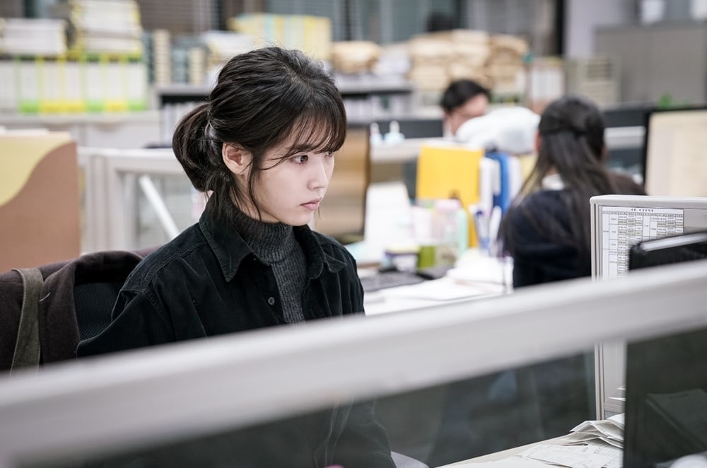 "IU Gets Serious For Her Role In ""My Ahjussi"""