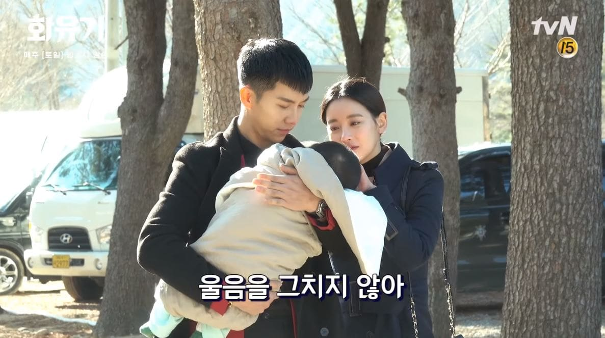 """Hwayugi"" Cast Can't Stop Adoring Baby Behind The Scenes"