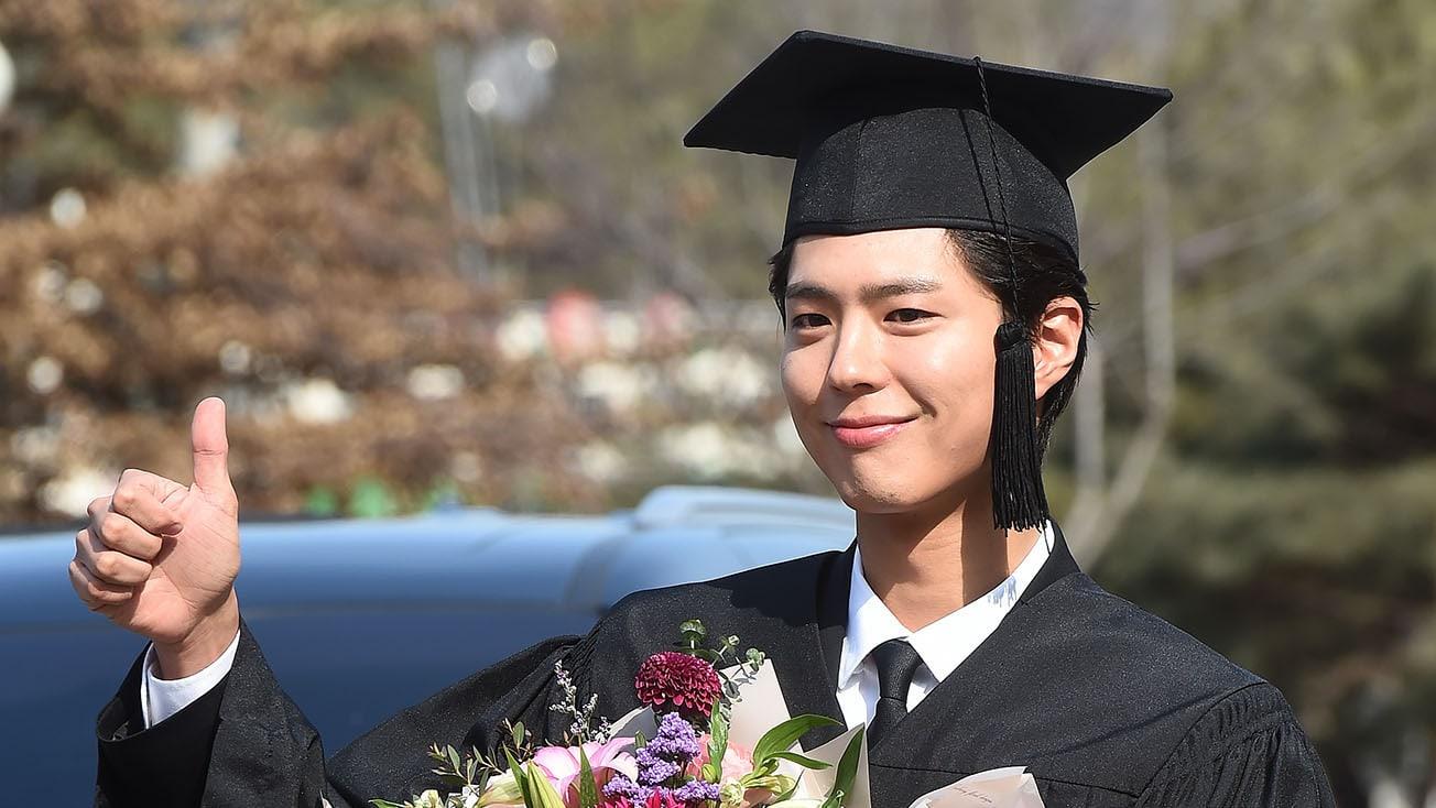 Park Bo Gum Graduates From Myongji University
