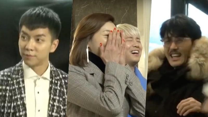 "Watch: Lee Seung Gi Cracks Up ""Hwayugi"" Cast Behind The Scenes"