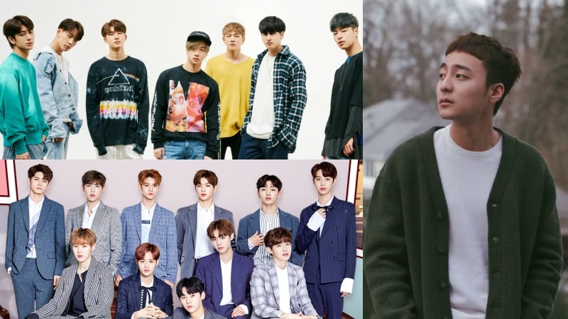 iKON, Roy Kim, And Wanna One Top Weekly Gaon Charts
