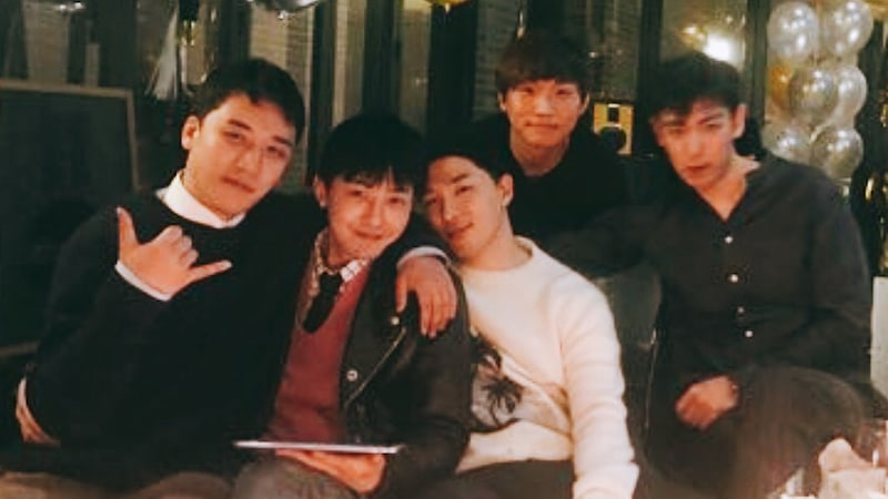 BIGBANG Enjoys Time Together Ahead Of Upcoming Enlistments