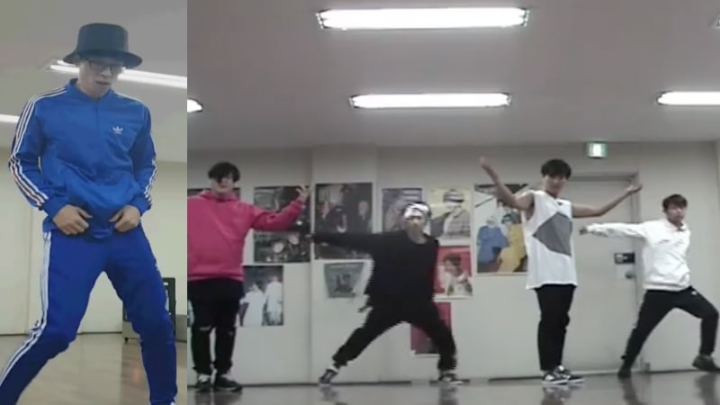 """Watch: Yoo Jae Suk And H.O.T. Perfect Their Dance Moves For """"Infinite Challenge"""" Reunion Special"""