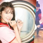 Watch: Apink's Jung Eun Ji Joins Olympic Curling Craze And Shares Funny Video