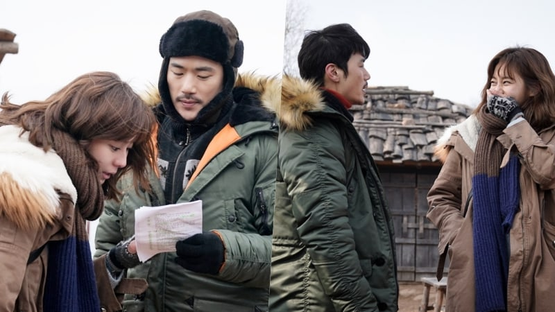 """UEE, Kim Kang Woo, And More Are Dedicated To Their Characters Behind The Scenes Of """"My Husband, Mr. Oh!"""""""