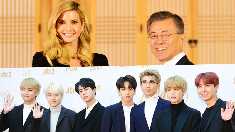 U.S. First Daughter Ivanka Trump Says Her Kids Are Fans Of K-Pop, Including BTS