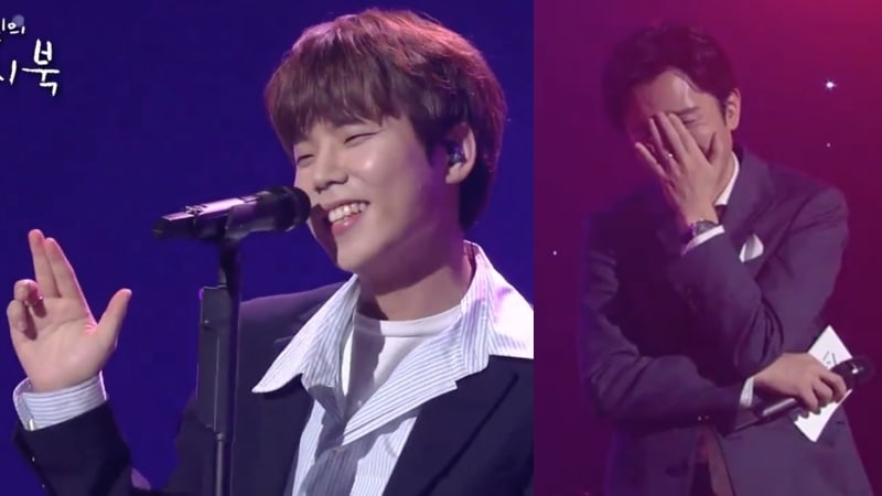 Watch: Jung Seung Hwan Performs Medley Of Girl Group Hits + Yoo Hee Yeol Hilariously Reacts