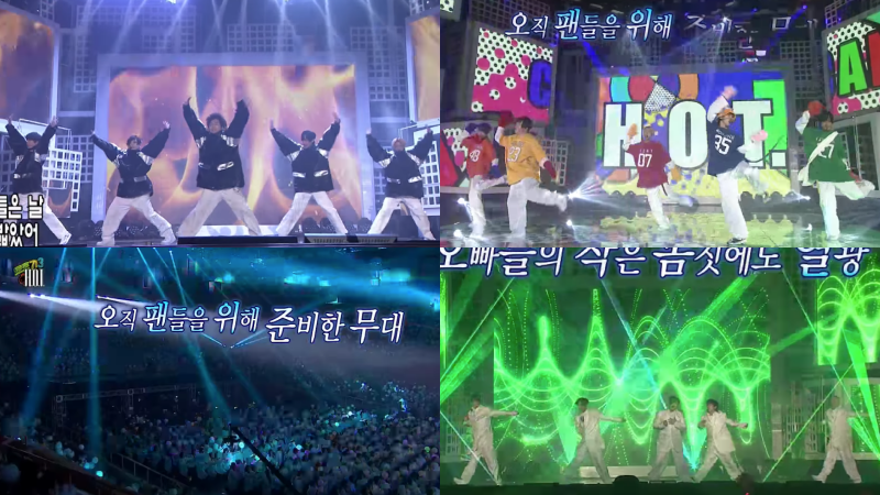 Watch: H.O.T. Finally Returns To The Stage As Five With Emotional Performances Of Legendary Hits