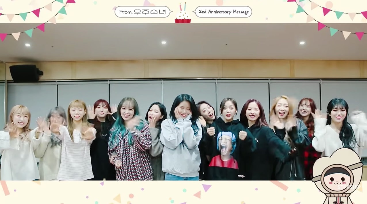 Watch: Cosmic Girls Celebrates 2nd Anniversary With Sweet Message To Fans