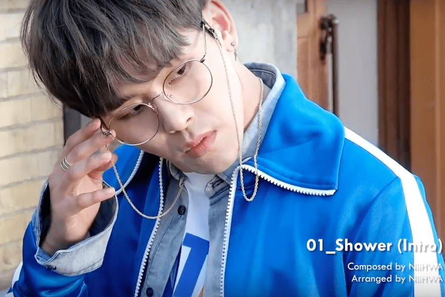 "Update: Hoya Gives A Preview Of All The Songs In His First Mini Album ""Shower"""