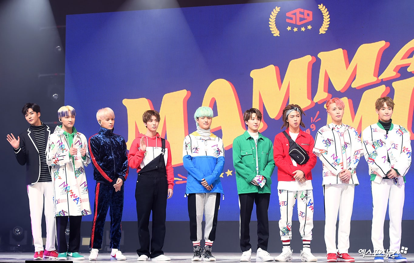 """SF9 Names Their Unexpected Role Model For Comeback With """"Mamma Mia"""""""