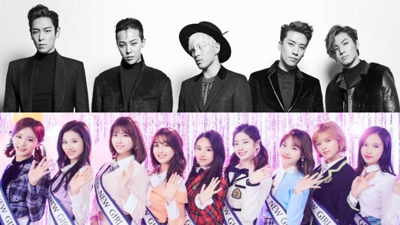 BIGBANG, TWICE, And More Win At 2018 Japan Gold Disc Awards